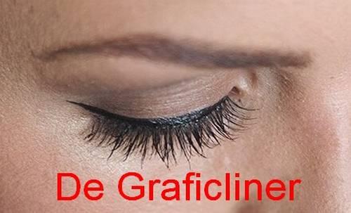 Voorbeelden graficliner eyeliner