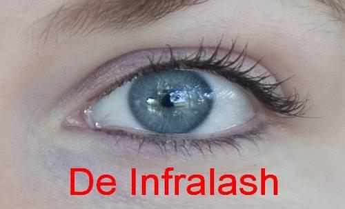 Voorbeelden infralash eyeliner