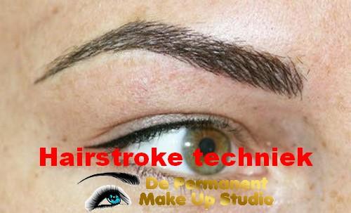 Voorbeelden Hair strokes