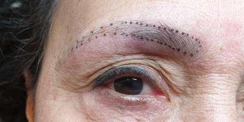 De Permanent Make Up Studio Wenkbrauwen voor behandeling 16