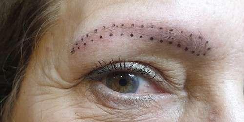 De Permanent Make Up Studio Wenkbrauwen voor behandeling 17